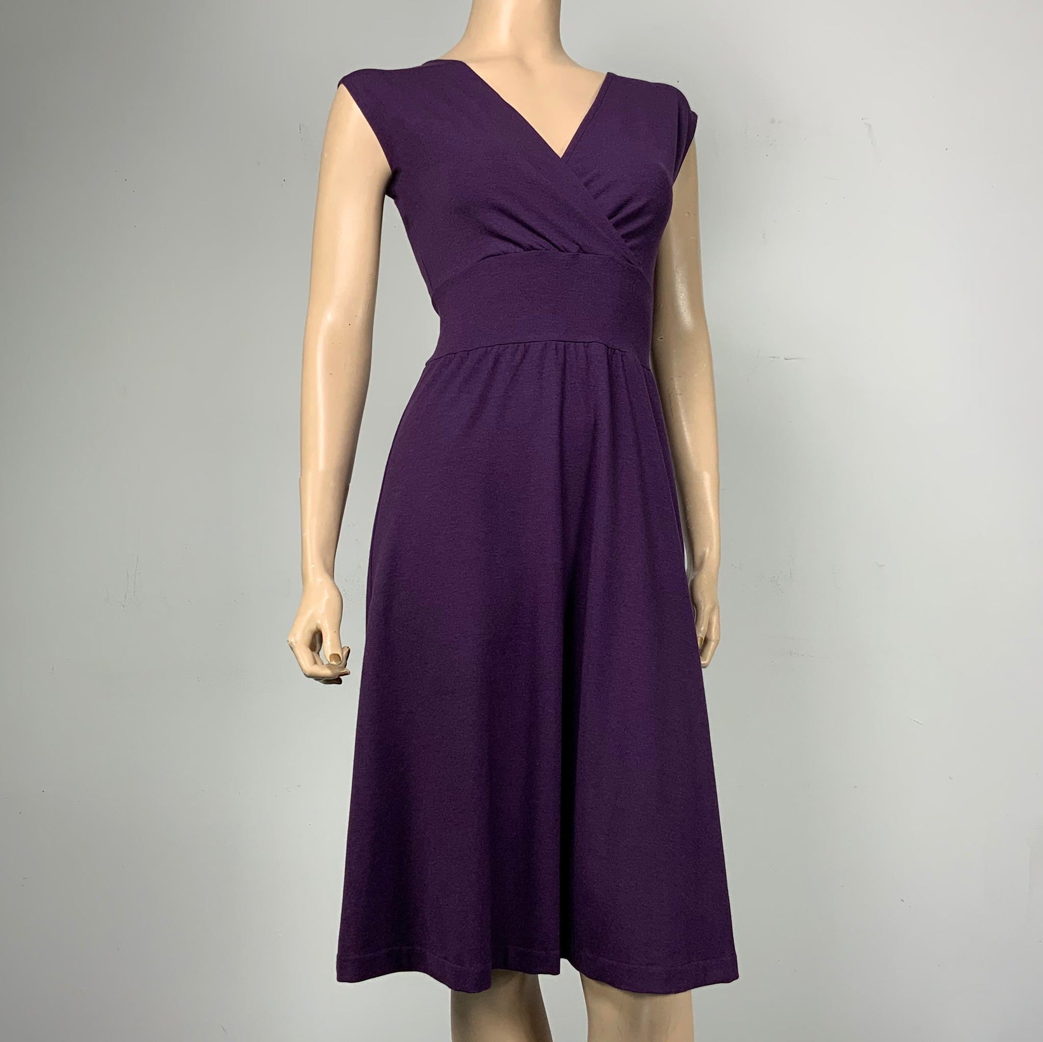 Purple  Cari Dress