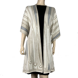 Mid Century Cape Sand, Cream and Charcoal