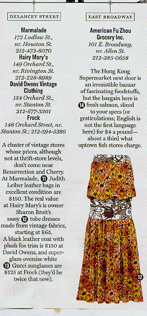 New York Magazine Picks