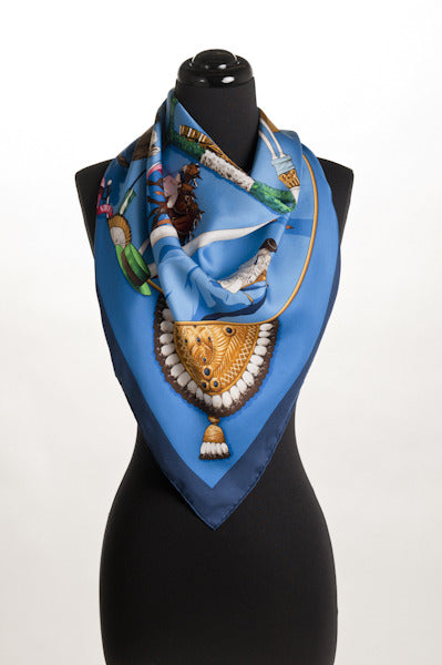 Hermes Bullfighter Scarf