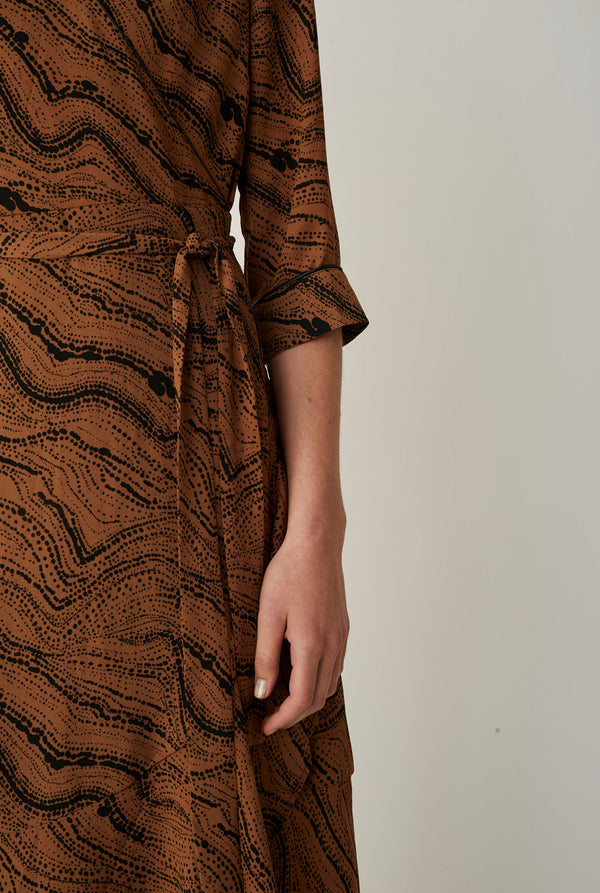 Celine wrap dress