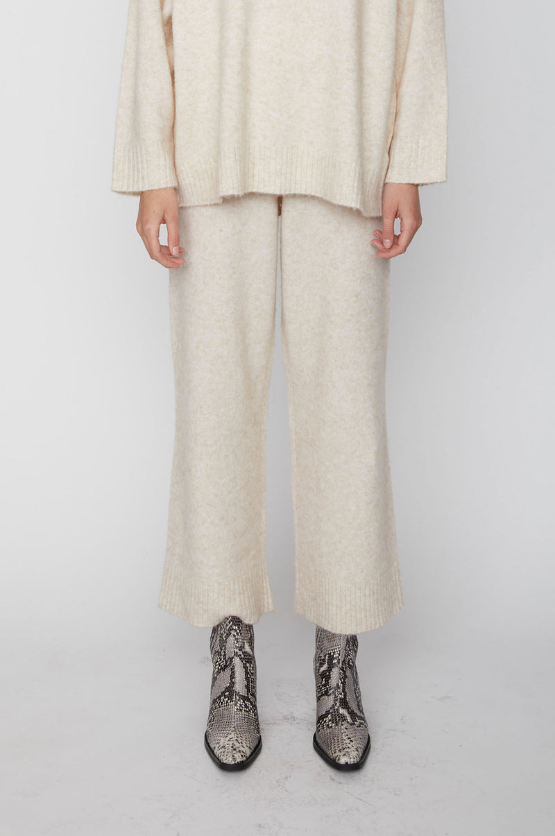 Unite knit trousers