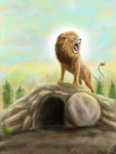 "Load image into Gallery viewer, ""The Lion Is Risen"" Print"