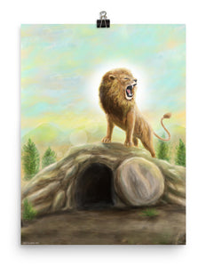 """The Lion Is Risen"" Print"
