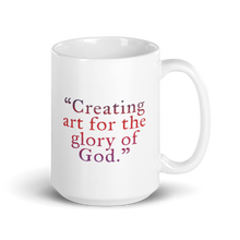 "Load image into Gallery viewer, ""Deo Gloria Art Logo"" Mug"