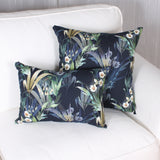 Clematis cushion by Marie Dooley