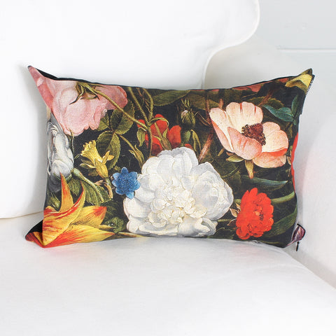 Flora cushion by Marie Dooley