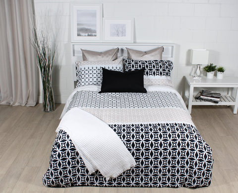 Stockholm duvet cover by Marie Dooley