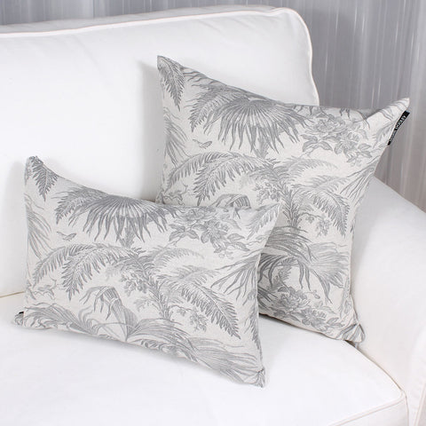 Tropical cushion by Marie Dooley