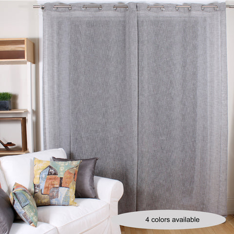 Linum curtain by Marie Dooley