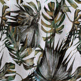green palm print by Marie Dooley