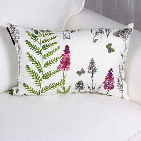 Oxalis cushion by Marie Dooley