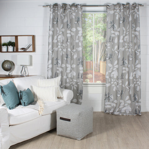 HONOLULU curtain medium grey