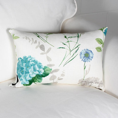 Hortensia cushion by Marie Dooley
