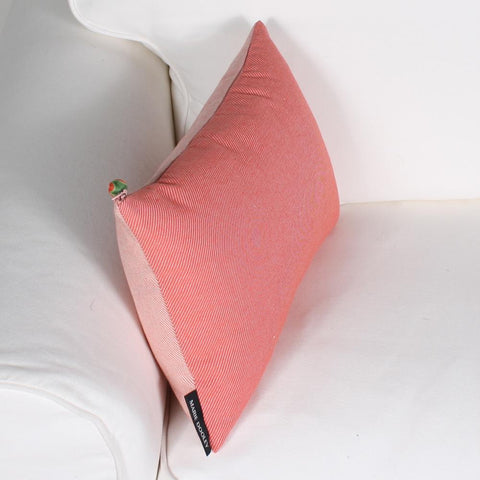 Twill cushion by Marie Dooley