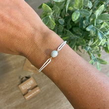 Load image into Gallery viewer, White string bracelet
