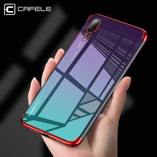 info for 0ae53 d417c Half Plating Case for Huawei P20 Pro Lite Seamless Cases Ultra Thin