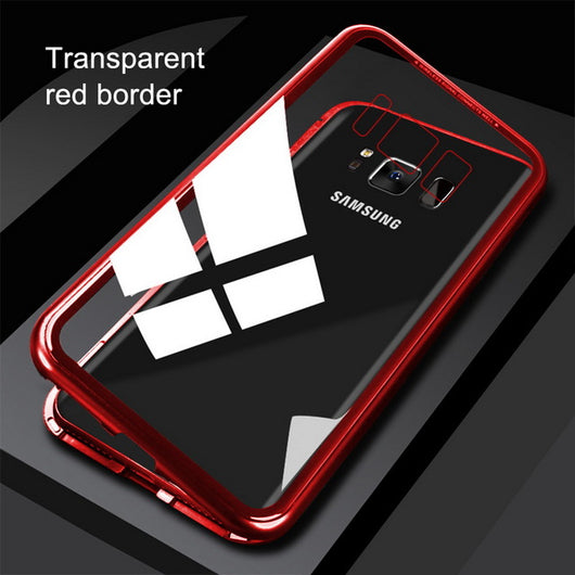 new concept 7aec1 3f934 360 Magnetic Metal Case Samsung Galaxy S8 Plus S8+ Note 8 9, iphone X XR XS  MAX
