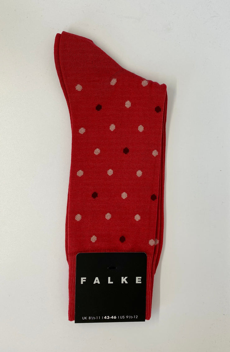 Falke Short Pink Dot Socks