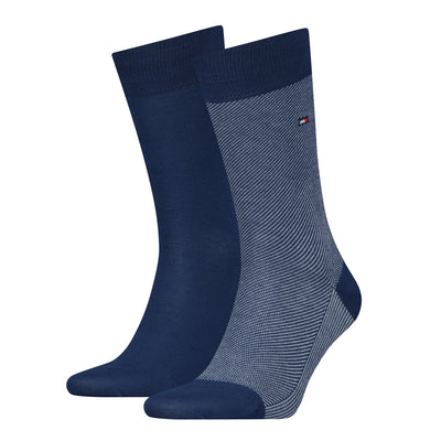 Tommy Hilfiger 2-Pack Micro Stripe Socks Blue