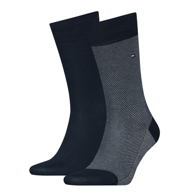 Tommy Hilfiger 2-Pack Micro Stripe Socks Dark Navy