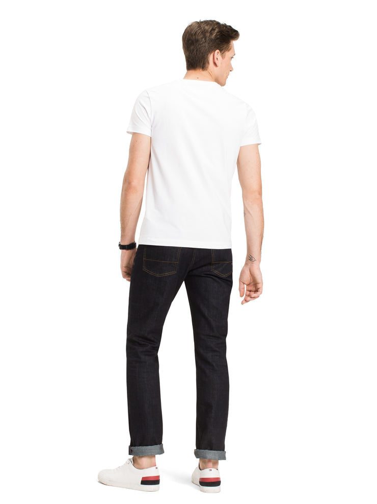Tommy Hilfiger Stretch Slim Crew Neck T-Shirt White