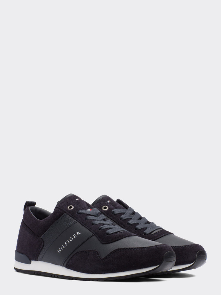 Tommy Hilfiger Iconic Lace-Up Trainer Navy