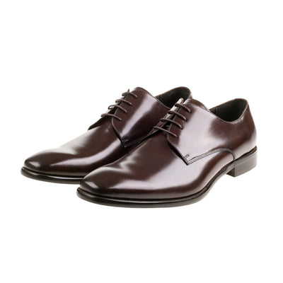 John White Moore Brown Calf Lace Shoe