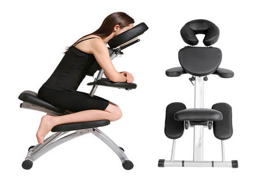 Back Massage Chair Black