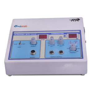 Ultrasonic Machine with 2 Channel TENS Machine -Combination for Promoting Recovery and Reducing Pain