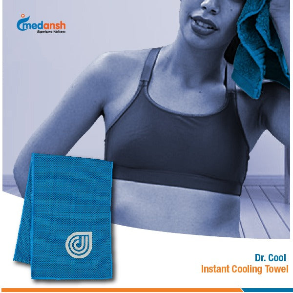 Dr. Cool Instant Cooling Towel For Workout, Gym, Fitness, Outdoor Sports