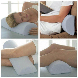 Multiuse Memory Foam Pillow 4-in-1 Half Moon