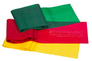 Theraband Latex Free Resistive Band - Theraband USA (Original)