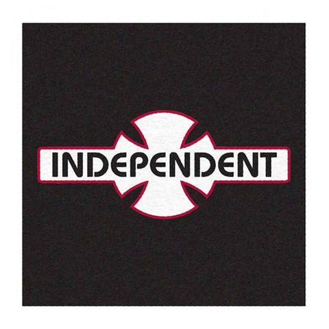 Independent Classic Lettering Square Rug