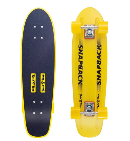 Yellow Gold Cup Cruiser Board Complete