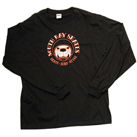 South Bay Skates Doggin Logo T-Shirt L/S