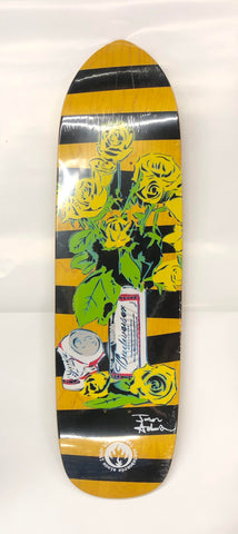"Black Label Jason Adams ""Beer & Roses"" Pro Model Deck"
