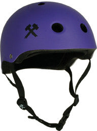 Purple Matte Kids Helmet