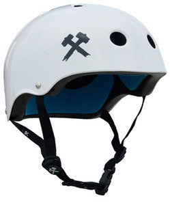 White Gloss Lifer Helmet