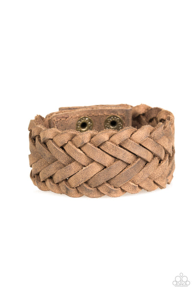 Pirate Port Brown Paparazzi Bracelet