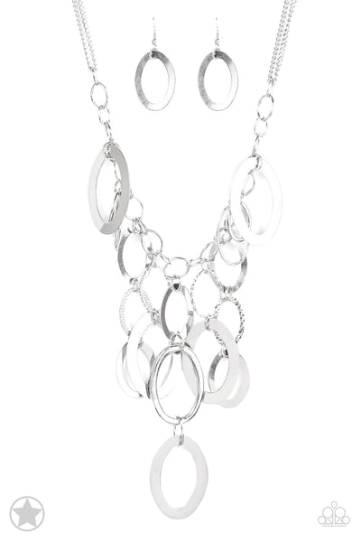 A Silver Spell Paparazzi Necklace-Silver