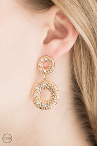 Sophisticated Shimmer Paparazzi Earrings