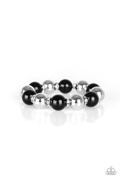 So Not Sorry Paparazzi Bracelet-Black