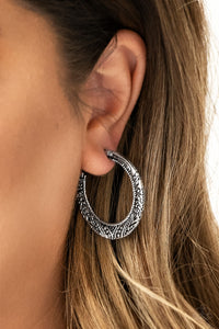 Rumba Rendezvous Paparazzi Earrings-Silver
