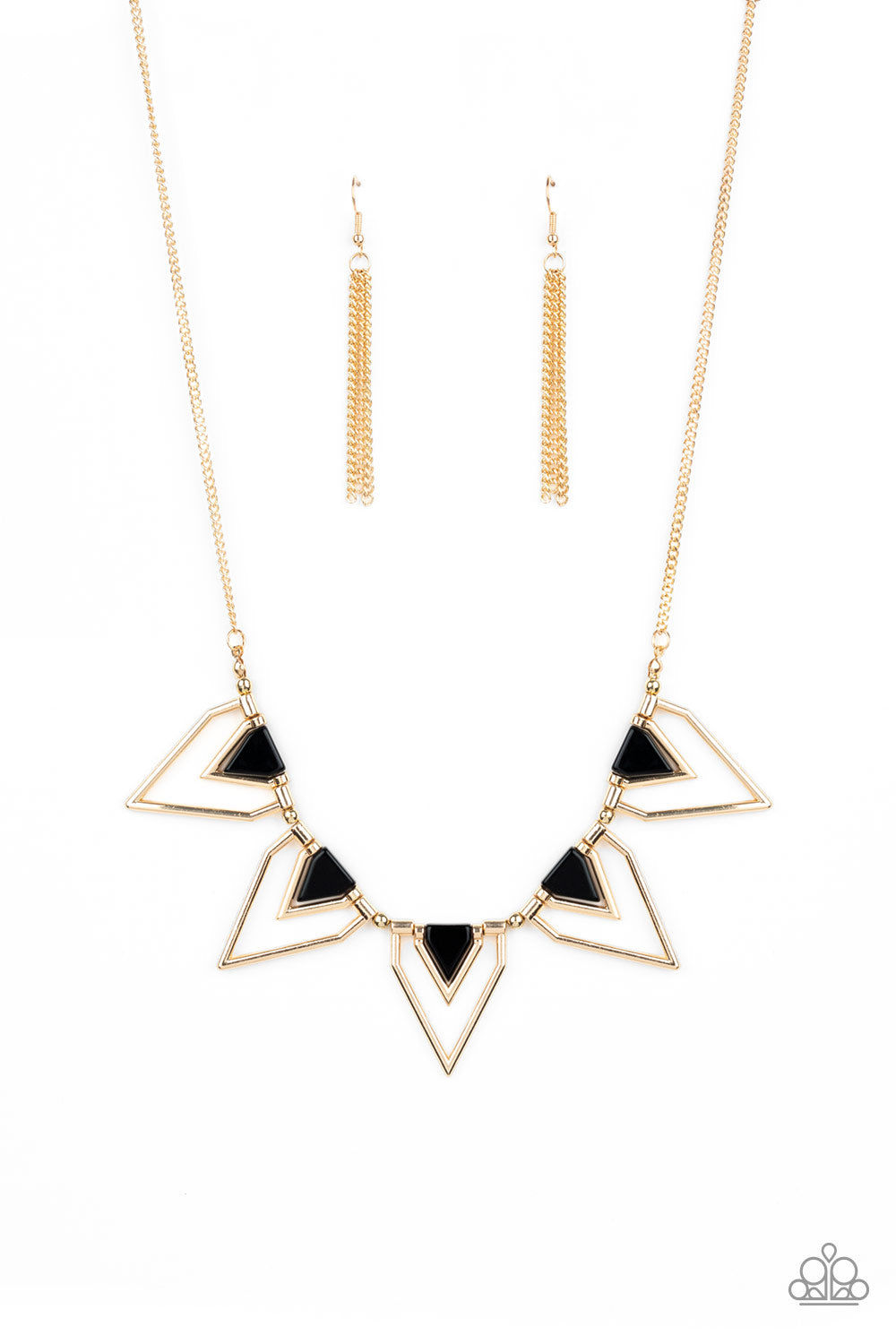 The Pack Leader Paparazzi Necklace-Gold