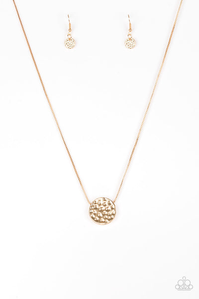The BOLD Standard Paparazzi Necklace-Gold