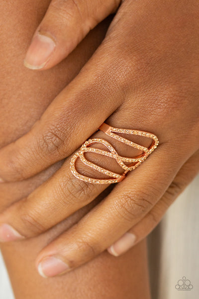 Chasing Starlight Paparazzi Ring-Copper