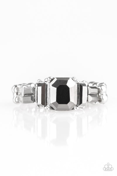 Born To Rule Paparazzi Ring-Silver