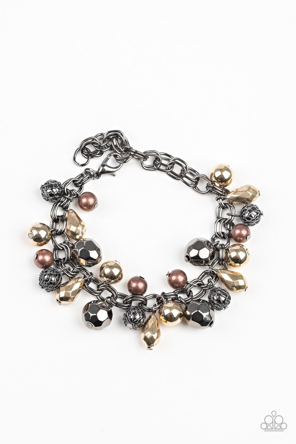 Invest In This Paparazzi Bracelet-Black