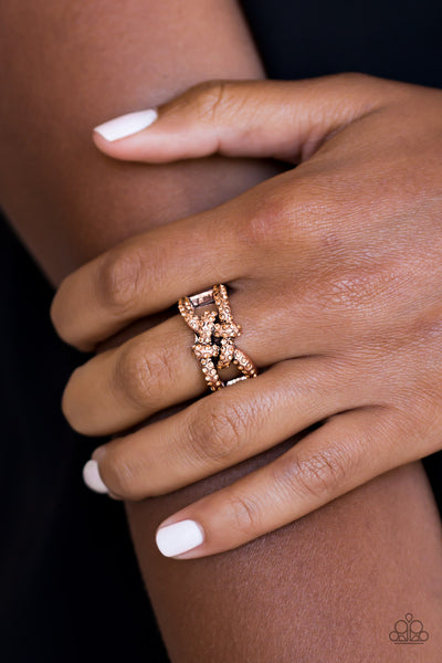 Can Only Go UPSCALE From Here Paparazzi Ring-Copper